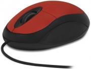 Мышь CBR CM 102, красная проводная
