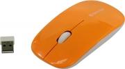 Мышь беспроводная DEFENDER NetSprinter MM-545, оранжевый/белый.