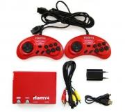 "Игровая приставка Sega - Dendy   ""Hamy 4 "" 350 -in-1 Mario red"