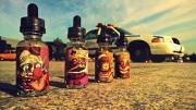 """жидкость для электронных сигарет Summer Liquid """"Клубника+Банан"""" Емкость 28 мл, никотин 3 мг и 1.5 мг"""