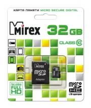 usb карта памяти Mirex class 10,  32 gb
