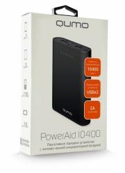 Зарядное устройство QUMO PowerAid 10400, чёрный.