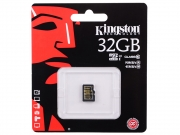 карта памяти microsd 32 gb Kingston class10 без адаптера
