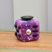 игрушка антистресс кубик-Fidget cube космос