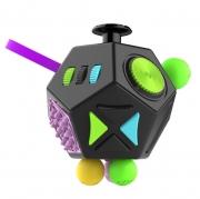 игрушка антистресс кубик-Fidget cube advance черный