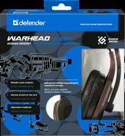 Гарнитура DEFENDER Warhead G-250, коричневая. Накладные.
