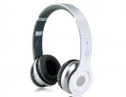 гарнитура bluetooth headphone s-450, мр3/fm, белый,частота 15Гц-25000