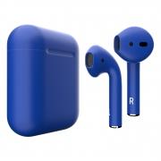 Беспроводные наушники i7 S синий
