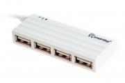 USB - Xaб Smartbuy 4 порта, белый