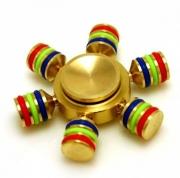 Spinner ( Спиннер ) антистресс металлический точечный 009921