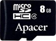 MicroSD 8GB Apacer  class 10 Premier c адаптером