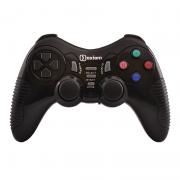 Беспроводной геймпад Oxion OGPW03BK с вибрацией черный