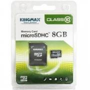 карта памяти microsd 8 gb Kingmax class 10,+SD адаптер