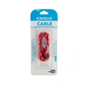 кабель iphone 5 (в оплетке) Bordelion