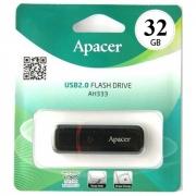 Флеш-накопитель USB 32GB Apacer  AH333 черный