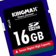 карта памяти  Kingmax SDHC 16GB Class 6
