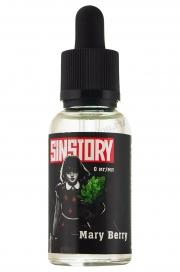 Жидкость для Электронных сигарет  Sintory Mary Berry крепость 0 мг