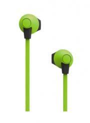 Наушники Smartbuy Boost, soft-touch, зеленые, внутриканальные