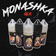 жидкость для электронных сигарет Жидкость Monashka GLK Salt 30 мл - 20 мг Strawmangoberry