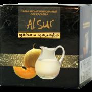 """Табак для кальяна """" Alsur gold """" дыня и молоко"""