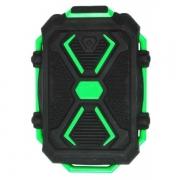 резервная батарея ЗУ Ritmix RPB-10407LST 10400 mAh  черный/зеленый