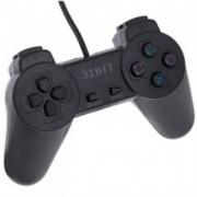 джойстик для Sony PLAYSTATION 1 (сони плейстейшн 1) черный