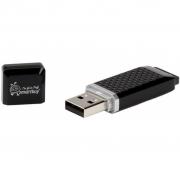 Флеш-накопитель USB  32GB  Smart Buy  Quartz  чёрный