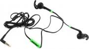 Гарнитура SMARTBUY SBH-420 FIT, черный/зеленый