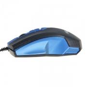 Мышь проводная  RITMIX ROM-202, голубая