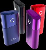 Glo mini  (АЙКОС) устройство для нагревания табака  (оригинал ) фиолетовый