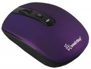 Мышь беспроводная Smart Buy 314AG, фиолетовая.