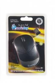 Беспроводная мышь Smartbuy (смартбай) 335AG,чёрная