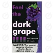 КАРТРИДЖИ FEEL the ielly grape ПОДХОДИТ ДЛЯ JUUL (4 ШТ) 6% 0.7 мл
