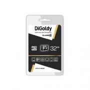 Карта памяти microsd Digoldy 32 gb class 10 без адаптера