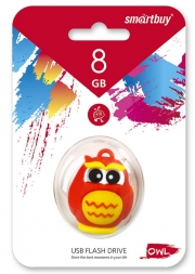 Флеш-накопитель USB  16GB  Smart Buy  Wild series  Сова