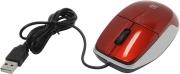 Мышь DEFENDER MS-940, красная, USB, проводная.