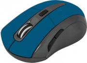 Мышь DEFENDER Accura MM-275, синяя, беспроводная, 6 кнопок, 800-1600 dpi,