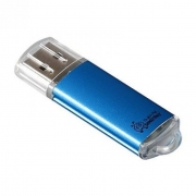 Флеш-накопитель USB  16 gb Smart Buy V-Cut, синий