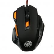 Мышь DIALOG MGK-14U, черная, USB, проводная