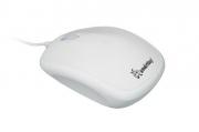 Мышь проводная Smart Buy 313, белая, USB.