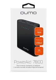 ЗУ QUMO PowerAid 7800, чёрный.