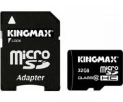 usb карта памяти microsd  kingmax  32 gb