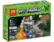 конструктор Lele (LEGO) Minecraft (майн крафт) пещера