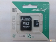 usb карта памяти Smart buy class 10, 16gb