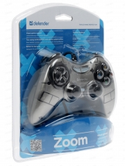 Геймпад DEFENDER Zoom USB Xinput