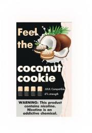 КАРТРИДЖИ FEEL the coconut cookie ПОДХОДИТ ДЛЯ JUUL (4 ШТ) 6% 0.7 мл