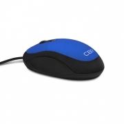 Мышь CBR CM 102, синяя, оптика, 1200dpi, провод 1,3м, USB