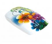Мышь беспроводная Smart Buy 327AG, принт цветы