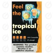 КАРТРИДЖИ FEEL the tropical ice ПОДХОДИТ ДЛЯ JUUL (4 ШТ) 6% 0.7 мл