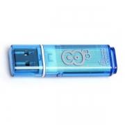 Флеш-накопитель USB  8GB  Smart Buy  Glossy  синий